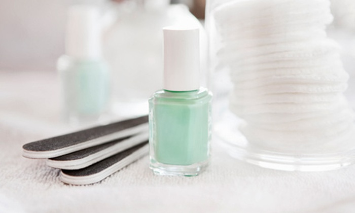 Posh! Nail Studio - West Albany: Signature Pedicure or Gel Manicure at Posh! Nail Studio (Up to 51% Off)