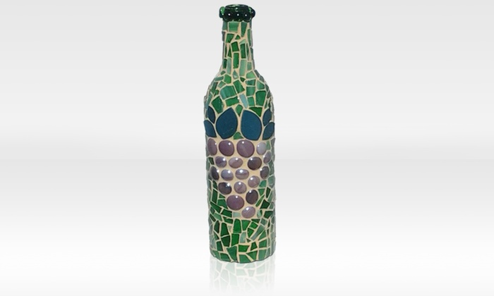 Smashing Times - Dallas: Fused-Glass Panel or Mosaic Wine Bottle Class for One or Two at Smashing Times (Up to 37% Off)