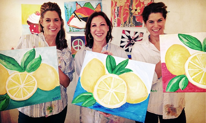 Blank Canvas - Thousand Oaks: Canvas Get-Together Painting Class for One or Two at Blank Canvas (Up to 51% Off)
