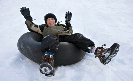 Evening Snow Tubing for Two or Winter Season Pass for One at Adrenaline Adventures (Up to 41% Off)