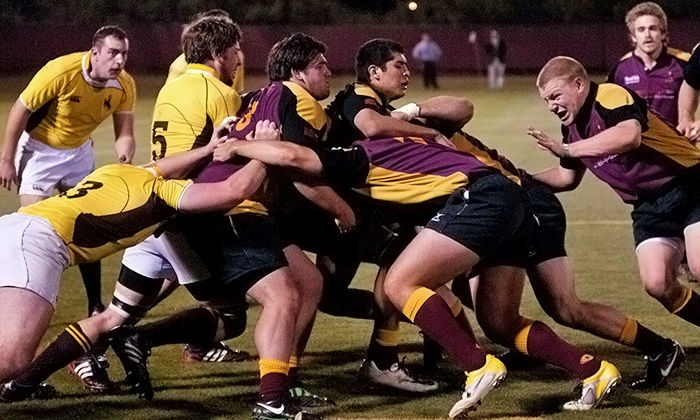 The Rugby Bowl: Spikes & Spokes - North Scottsdale: Fiat of Scottsdale Rugby Bowl: Brigham Young vs. Arizona State on Saturday, April 12, at 1:10 p.m. (Up to 51% Off)