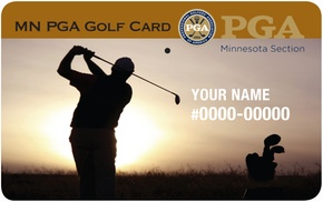 MN PGA Golf Card: $25 for a One-Year Minnesota PGA Golf Discount Card ($49.95 Value)