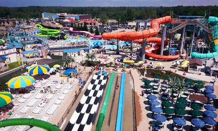 Two tickets to Splashtown - Funtown Splashtown USA in Saco