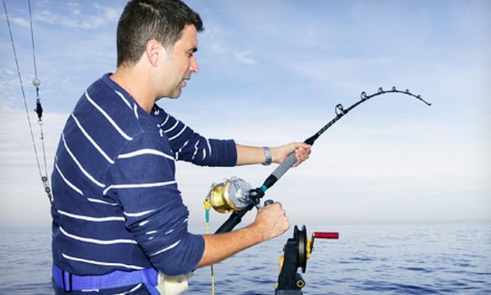 Long Beach Marina Sportsfishing - Alamitos Bay Landing: 1 or 2 Groupons, Each Good for Half-Day Deep-Sea Fishing Trip for One from Long Beach Marina Sportfishing (40% Off)