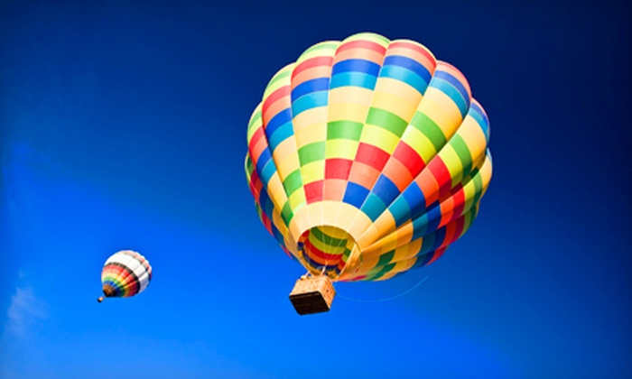 Rainbow Ryders, Inc. - Deer Valley: Hot-Air-Balloon Ride for One or Two with Champagne Toast and Breakfast at Rainbow Ryders, Inc. (Up to 51% Off)