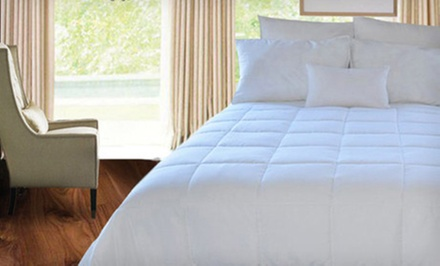Natural Comfort Microfiber Down-Alternative Comforter in Twin, Full, Queen, or King (Up to 64% Off). Free Shipping.