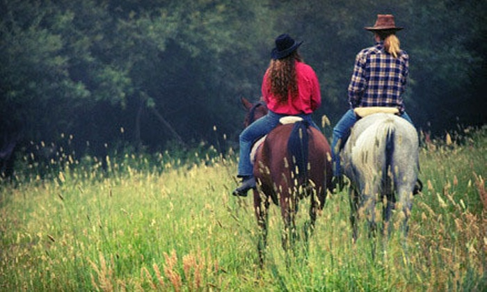 Fort Mountain Stables - Chatsworth: One- or Two-Hour Horseback Trail Ride for Two or Four from Fort Mountain Stables in Chatsworth (Up to 56% Off)