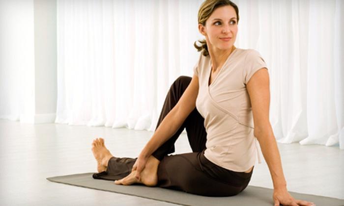 Bikram Yoga Westfield - Westfield: $49 for 30 Classes at Bikram Yoga Westfield ($450 Value)