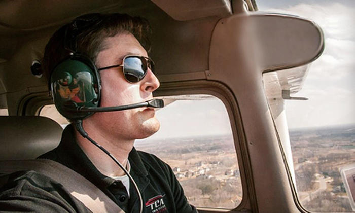 Twin Cities Aviation - Blaine: $89 for an Introductory Flight Lesson from Twin Cities Aviation in Blaine ($180 Value)