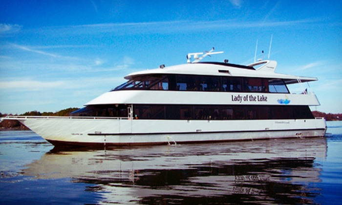 Queen's Landing - Queen's Landing: Lake Norman Dinner Ride for Two or Four from Queen's Landing (Up to 54% Off)