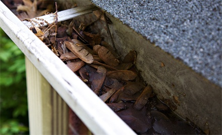 100, 200, or 300 Linear Feet of Gutter Cleaning from Anderson Brooks Construction (Up to 53% Off)