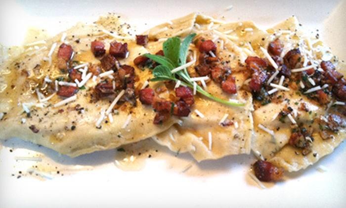 Angel Oak Restaurant - Croghan Landing: Seasonal American Cuisine for Two, Four, or Six at Angel Oak Restaurant (Up to 52% Off)