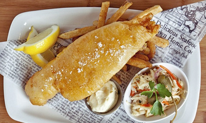 null - Toronto: $15 for $30 Worth of Food at Irish Embassy Pub and Grill