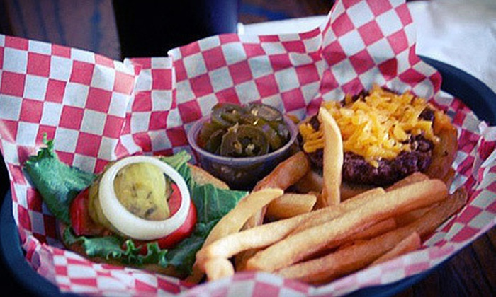 Puffabellys Old Depot Restaurant - Spring: Pub Food or Music and Dinner Package at Puffabellys Old Depot Restaurant in Spring (Half Off). Four Options Available.