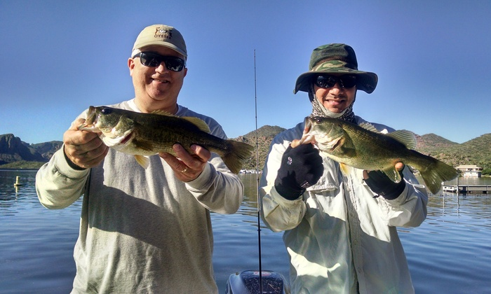 The Arizona Fishing Guides - Multiple Locations: $251 for a Four-Hour Private Fishing Trip for Two from The Arizona Fishing Guides ($325 Value)