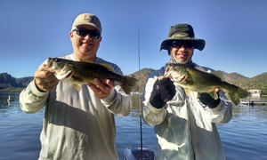 The Arizona Fishing Guides: $251 for a Four-Hour Private Fishing Trip for Two from The Arizona Fishing Guides ($325 Value)