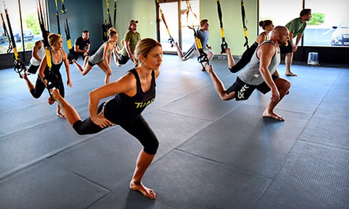 Hot Yoga Infusion - Albuquerque: Five or 10 TRX Suspension-Training Classes at Hot Yoga Infusion in Albuquerque (Up to 54% Off)