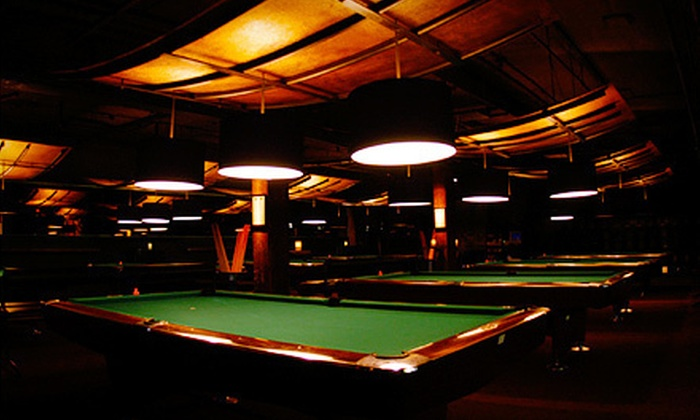 Belltown Billiards - Belltown: Catered Billiards Party for Up to 10 or Four-Hour Catered Party for Up to 40 at Belltown Billiards (Up to 66% Off)