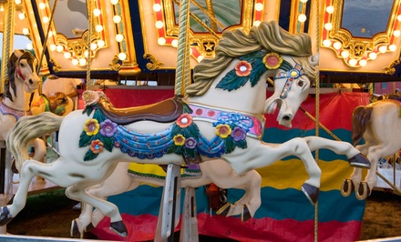 Museum Admission or a Birthday Party at The New England Carousel Museum (Up to 51% Off). Three Options Available.