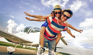 Northstar Aviation: 30-Minute Romantic Day/Night Flight, Sparkling Wine & Chocs for Two from R1 649 with Northstar Aviation (Up to 74% Off)