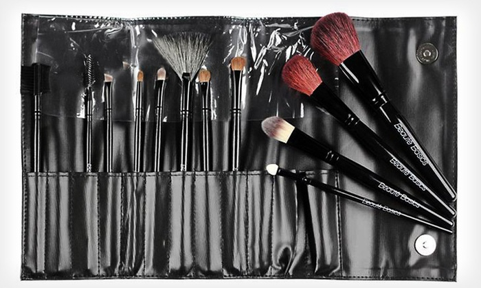 Beaute Basics 12-Piece Deluxe Brush Set: $15 for a Beaute Basics 12-Piece Professional Brush Set ($74.95 List Price). Free Shipping.