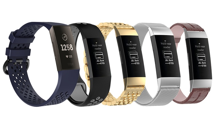 Up To 43% Off Watch Band for Fitbit Charge 3   Groupon