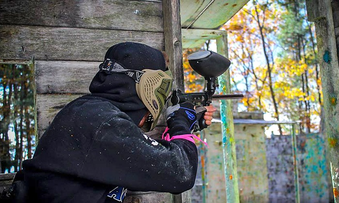 OSG Paintball - Barnstead: All-Day Paintball Package for Two or Four at OSG Paintball (Up to 61% Off)