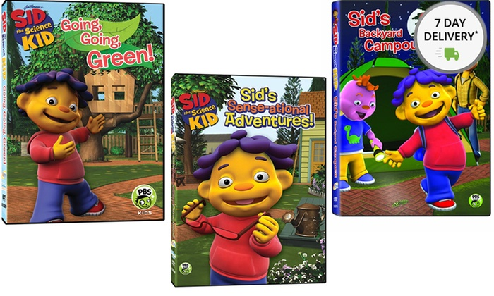 Sid the Science Kid 3-Disc Set: Sid the Science Kid 3-Disc Set. Free Returns.