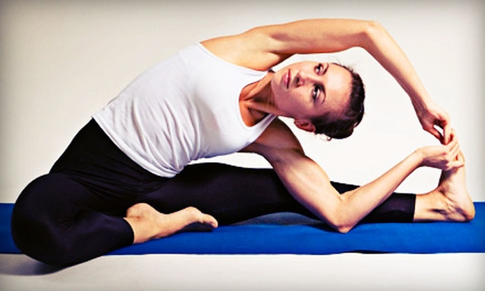 Yoga with Katie WindOM - Southwest Oklahoma City: 10 or 20 Yoga Classes or Six Months of Unlimited Yoga Classes at Yoga with Katie WindOM (Up to 72% Off)