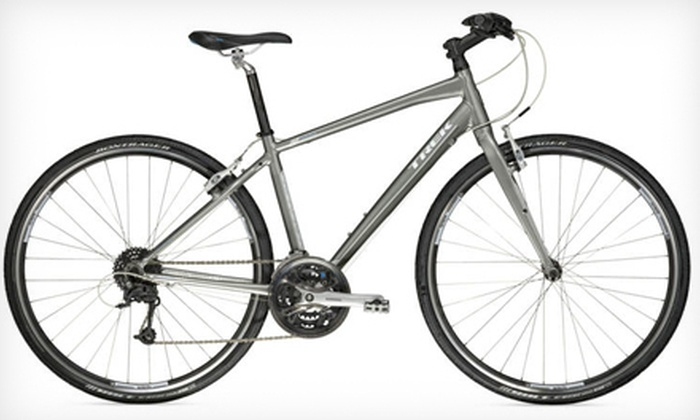 Trek Bicycle Store - Santa Rosa: $489 for a 13-, 15-, 17-, or 19-Inch Women's 2012 Trek Bicycle at Trek Bicycle Store of Santa Rosa ($755.96 Value)