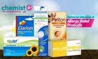 £30 Spend at the Online Pharmacy Chemist-4-U (50% Off)