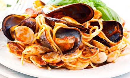 Italian Cuisine and Drinks at Rocky's Italian Cuisine and Steak House (50% Off). Two Options Available.