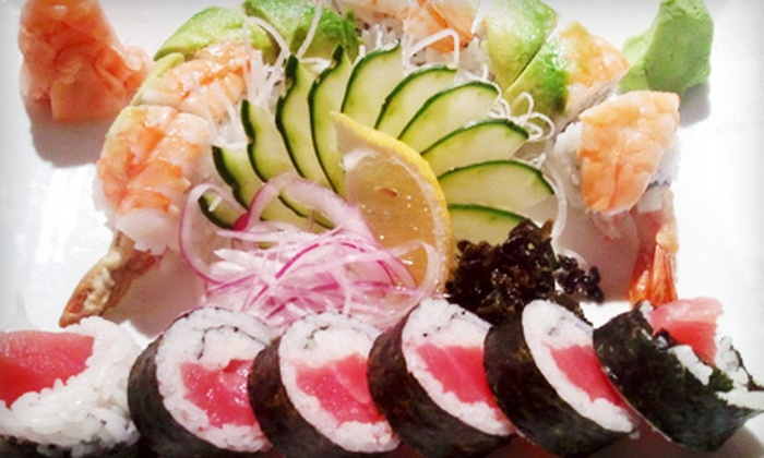 Umi Sushi - Hauppauge: $15 for $30 Worth of Japanese Dinner Cuisine and Two Cups of Hot Sake at Umi Sushi