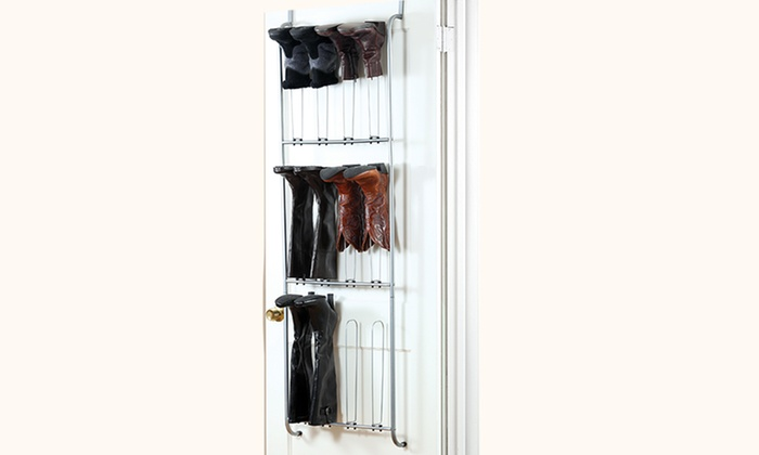 Over The Door Boot Organizer Groupon Goods