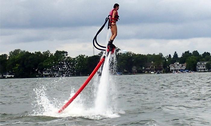 Rocketman - Multiple Locations: $135 for 25-Minute Water-PropelledFlyboardExperience from Rocketman ($250 Value)