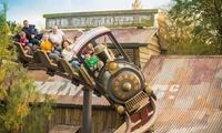 Eintrittskarte für den Freizeit- & Ferienpark Slagharen (59% sparen*)