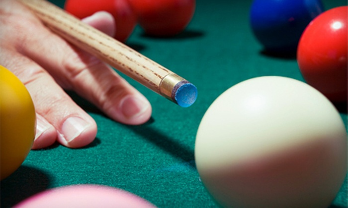 Chicago Billiard Cafe - Portage Park: Private Billiards Party for Up to 25 or $12 for $25 Worth of Pool and Food at Chicago Billiard Cafe