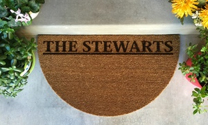 American Laser Crafts: Personalized Door Entry Mat