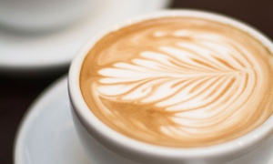 White Rhino Coffee: $15 for Three Groupons, Each Valid for $10 Worth of Coffee and Snacks at White Rhino Coffee ($30 Total Value)