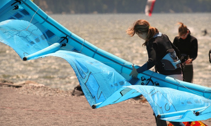KiteAddict - Cliffside: 2.5-Hour Introductory Kiteboarding Course for One or Two from KiteAddict (Up to 60% Off)