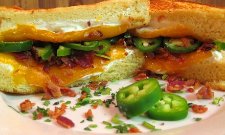 $18.99 for a Grilled Cheese Meal and Beers for Two at Cheesie's Pub & Grub (Up to $36 Value)