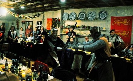 Medieval-Themed Comedy Show and Four-Course Dinner at Medieval Madness (51% Off)