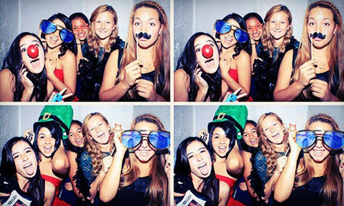 MyFunOverLouisville - Louisville: Three- or Four-Hour Photo-Booth Rental with Prints, CD, Props, and Photo Book from MyFunOverLouisville (Up to 57% Off)