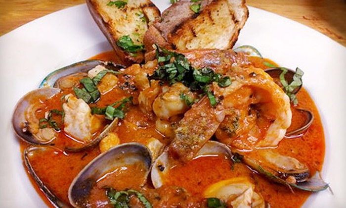 Mezzo Bistro and Wine - Las Vegas: Italian Cuisine and Drinks for Lunch or Dinner at Mezzo Bistro and Wine (Up to 56% Off)