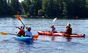 Bootsverleih Boat4All: 3 Std. 2er-Kajak oder 4er-Tretboot fahren bei Bootsverleih Boat4All