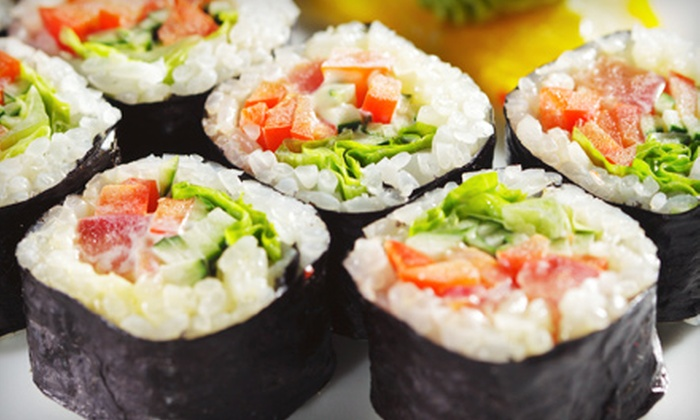Tabu Sushi Bar & Grill - Santee: Sushi and Japanese Food at Tabu Sushi Bar & Grill (Up to 47% Off). Four Options Available.