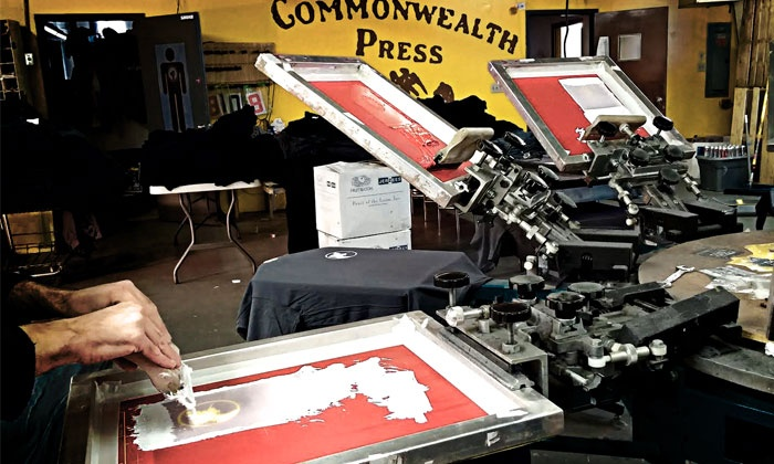 Screen-Printing Class - Southside Flats: Create Your Own T-Shirt with a Screen-Printing Studio Owner on December 18 at 6:30 p.m.