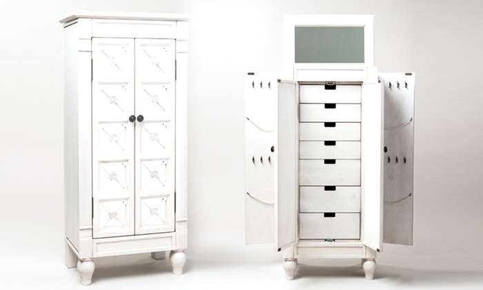 multiple designs hives u0026 honey standing jewelry armoires hives and honey standing jewelry armoires