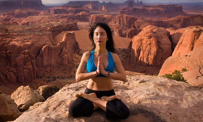Arizona Hiking Yoga - Downtown Phoenix: One Hiking Yoga Class for a minimum of two people at Arizona Hiking Yoga (Up to 58% Off)
