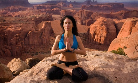 One or Five Hiking Yoga Classes or One Private Hiking Yoga Class at Arizona Hiking Yoga (Up to 80% Off)